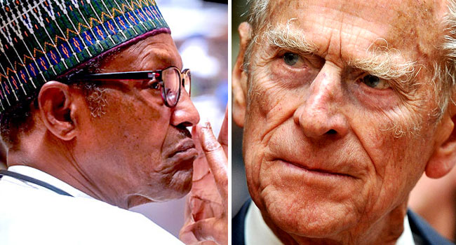 Buhari expresses Nigeria's condolences over Prince Philip's death